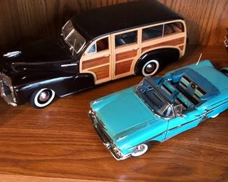 many model cars in excellent shape