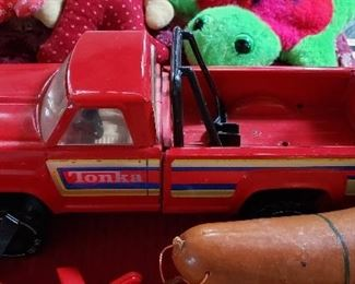 Vintage Toys and Trucks