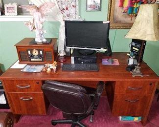 business computer desk