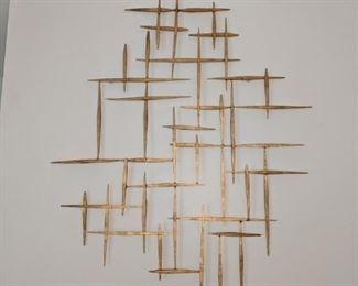 Very pointy wall sculptural hanging