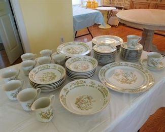 Boum Bros. Saybrook Porcelain China Set