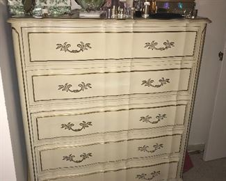"French Provincial ""chester"" drawers"