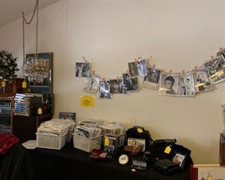 Movie memorabilia, vintage cameras, black and white candid shots of famous actors and actresses!!