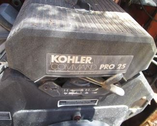 Skid Steer Kohler Command Pro 25 HP Engine