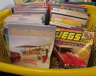 Loads of Magazines on Varied Topics:  Aviation, Cars, Crafts, Genealogy, Painting, Cooking