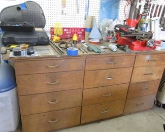 12 Drawer Work Bench