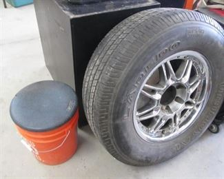 "17"" Mounted Tire (1)"