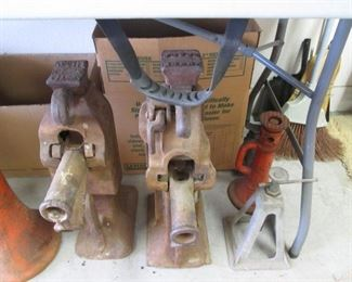 "2 Vintage ""Joyce"" Railroad Jacks + Other Vintage Jacks"
