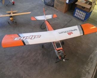 """ Spektrum"" Remote Control Airplane"
