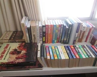 Loaded with Books, Many Topics:  Fiction, Non-Fiction, Aviation, Cars, Crafting, Health, Dictionary, Genealogy