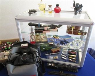 Visit our Security Chest:  Jewelry, Belts, Pocket Knives, Perfume, etc.