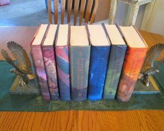 Harry Potter Set of 7 First Editions