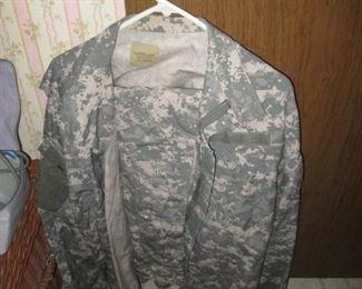 Military Pants, Shirt