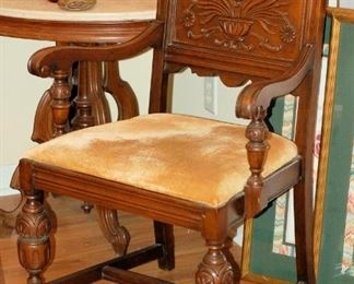 Jacobean Revival Arm Chair