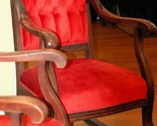 Victorian Rocking Chair (Three Piece Set)