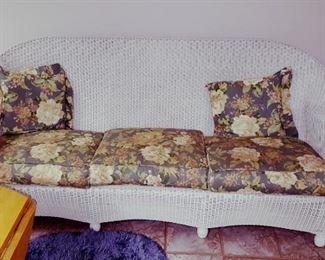 Wicker Sofa NICE