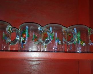 Hand Decorated Glasses
