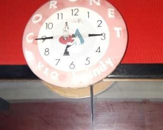 Coronet Clock