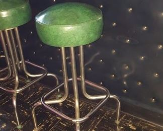 One of Five Bar Stools