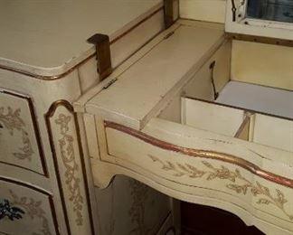 John Widdicomb Dressers with Vanity Insert