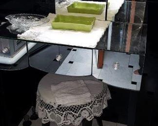 Glass Vanity AS IS