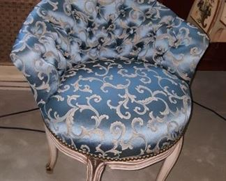 Darling Upholtered Low Back Chair