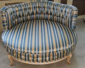 Large Circular Chaise