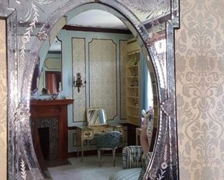 Mirrored Glass Mirror