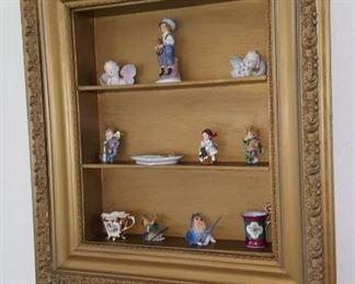 Shadow Box with Decorative Items