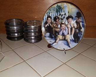 Plated & Coasters