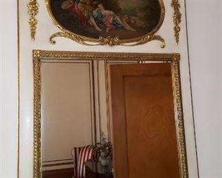 Mirror with Oil Painting