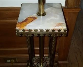 Marble Top Table Lamp