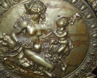 Louis XVI Gilt Bronze Credenza