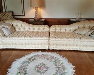 Sofa or 2 Chaise Lounges
