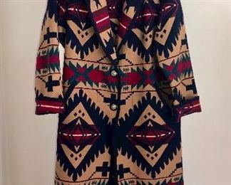 Pendleton duster jacket, vintage