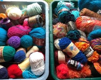 Incredible selection of hand-dyed wool, unique and accent skeins to keep you knitting for the rest of your days