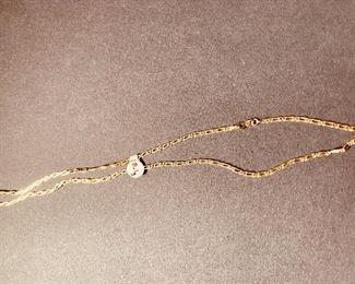 14K necklace