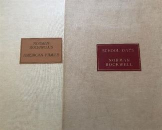 Norman Rockwell signed complete portfolios