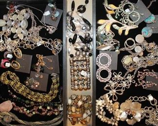 Quality statement costume jewelry, all 50% off!
