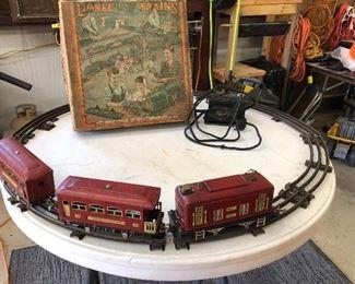 Lionel Train Set with Original Box