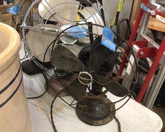 Antique fan, works