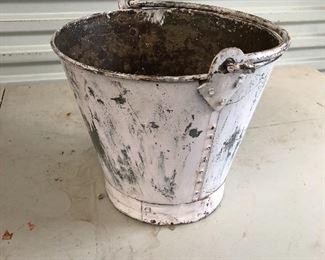 Antique Fireman Bucket