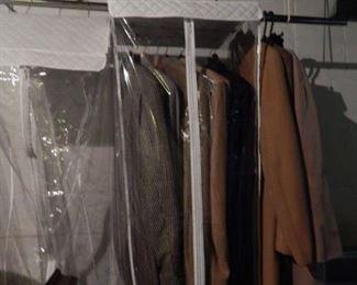 Men's Top coats. Blazers too.