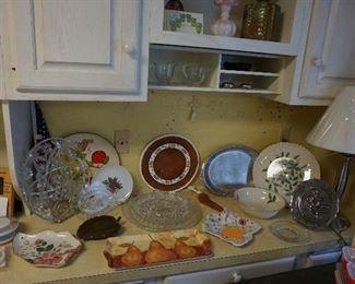 plates, decor