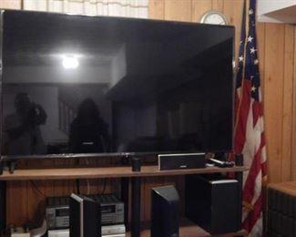 Large flat screen TV.  Like new!