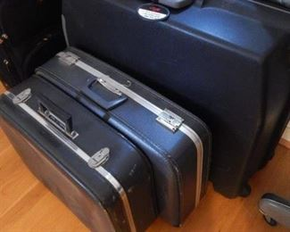 More suitcases.