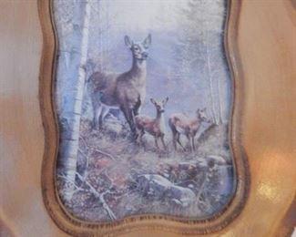 Vintage wall plaque.