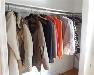 Men's coats.