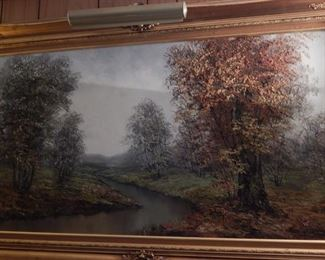 Large painting.