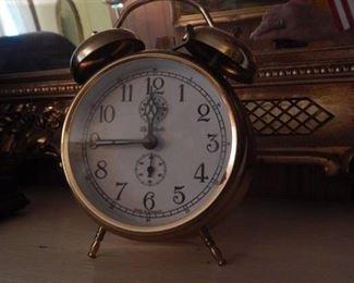 Table alarm clock.